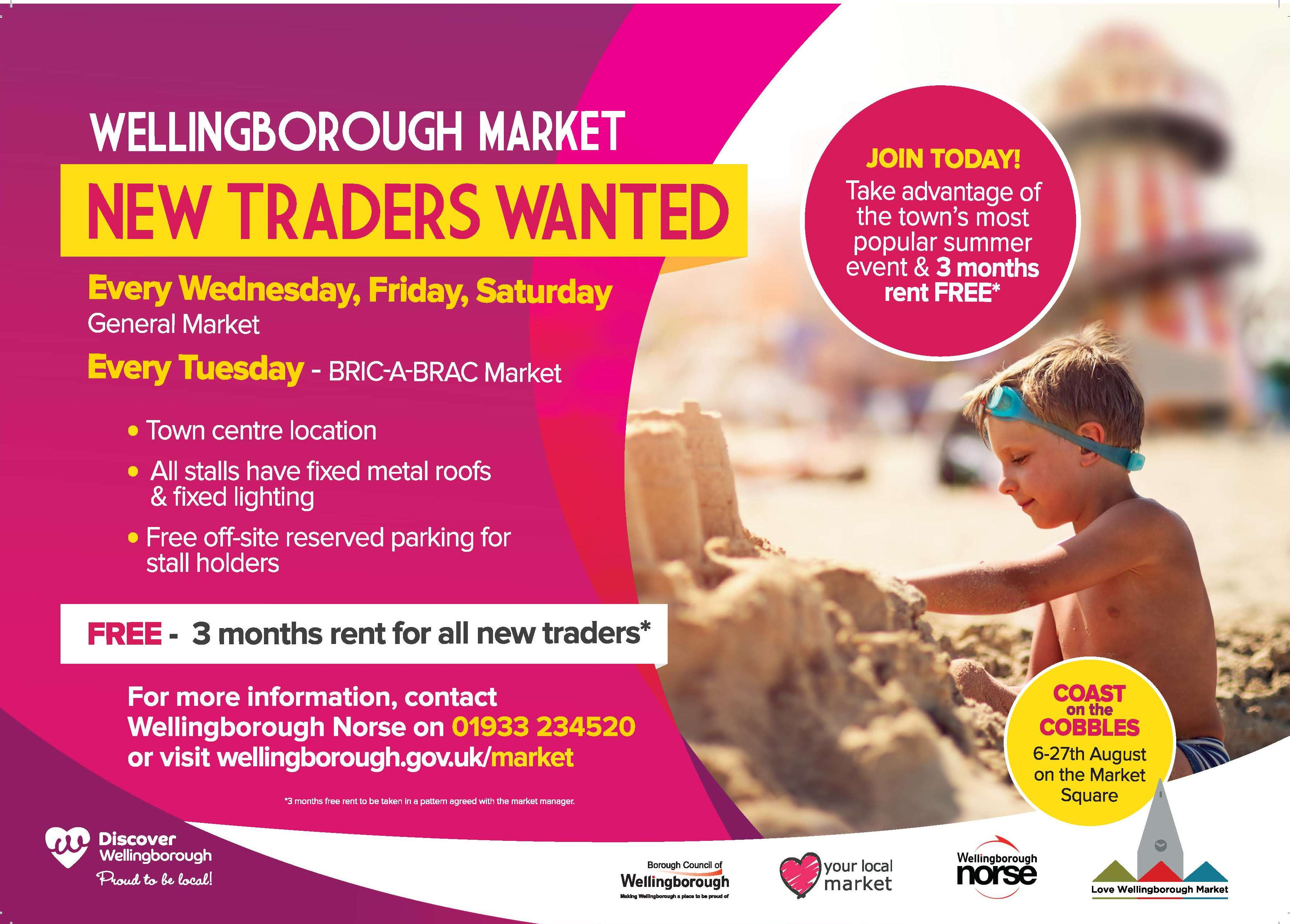 Bid market new traders flyer