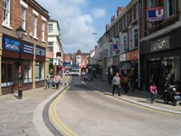 After picture of Market St regeneration.