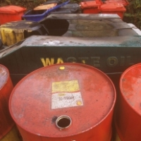 Image of waste oil