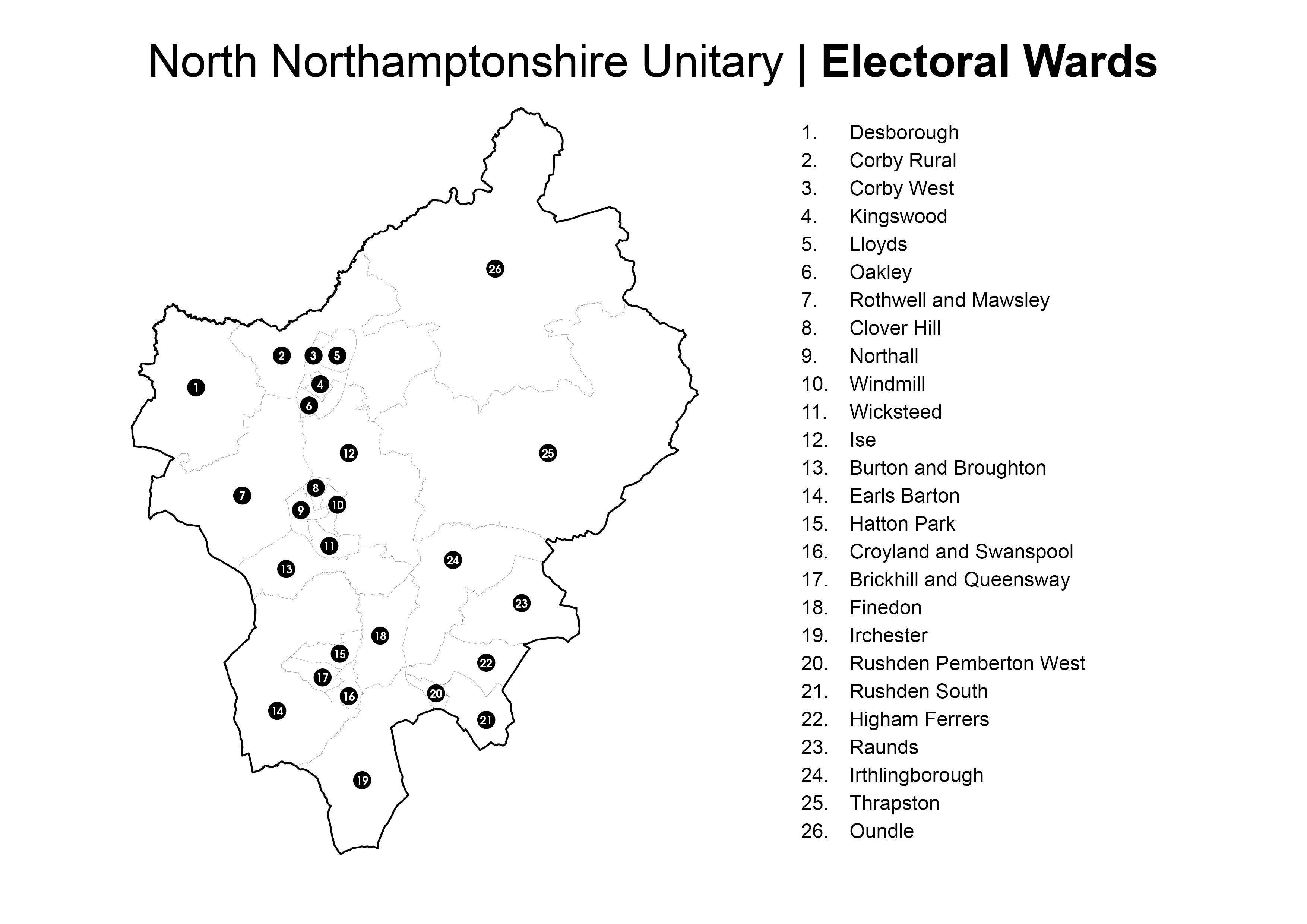 Electoral ward north